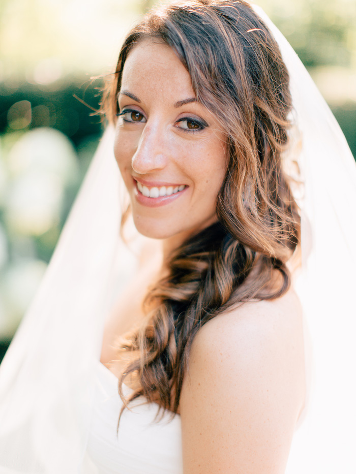 Bridal portrait Italy wedding