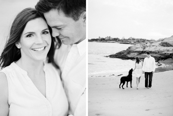 Newport coastal engagement session