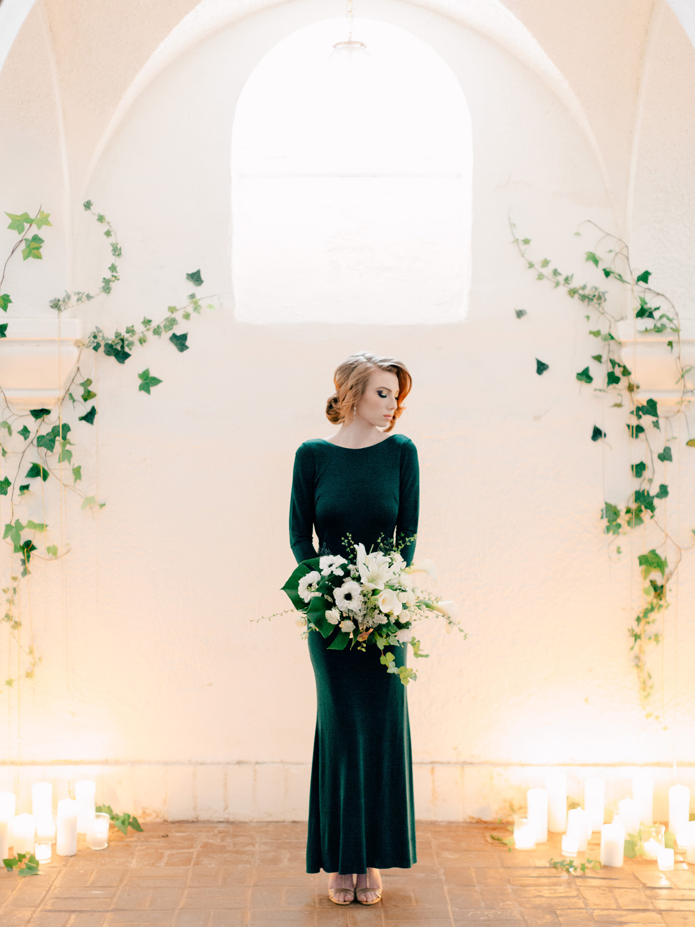 Modern art deco wedding