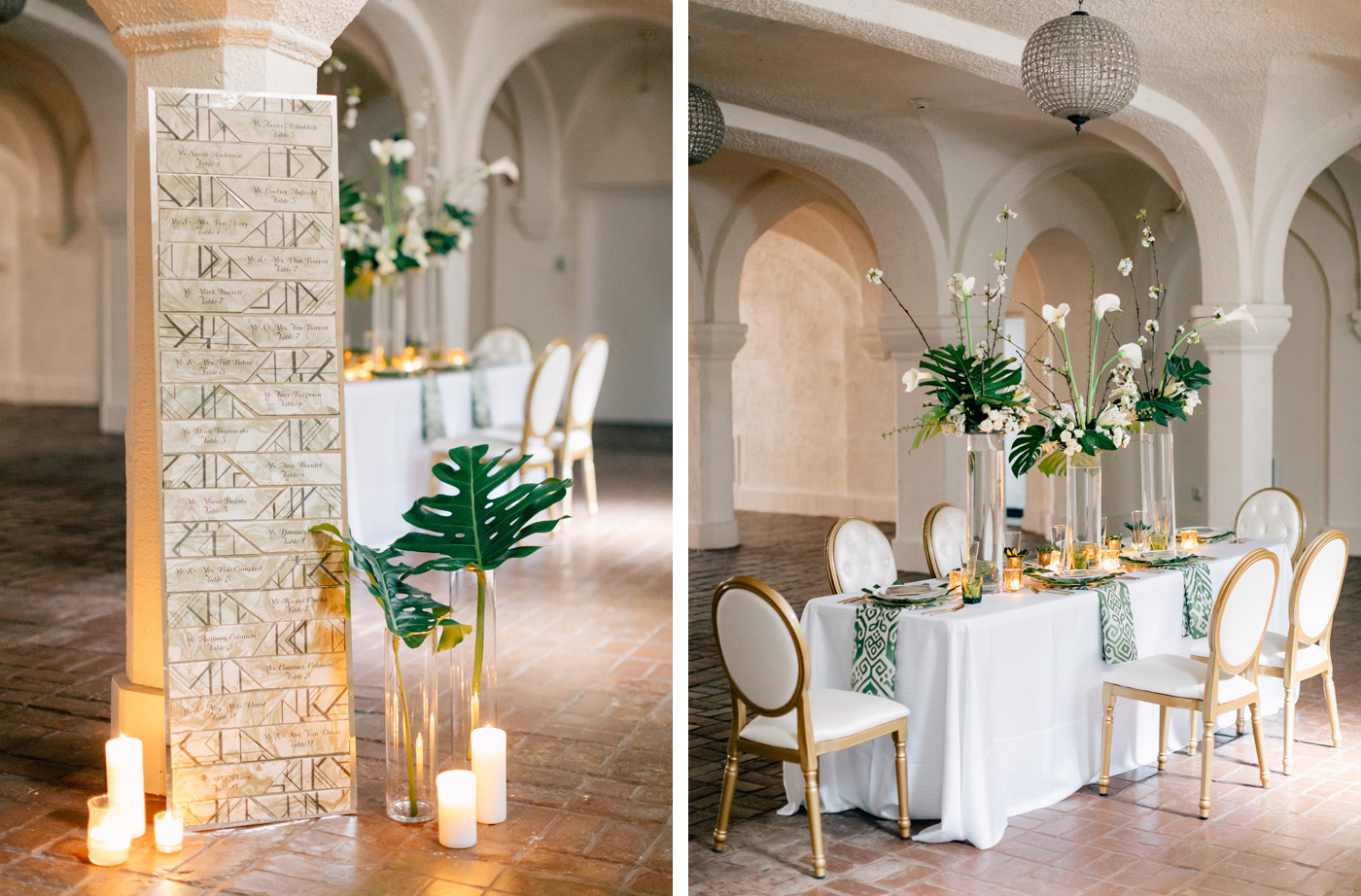 art deco wedding design