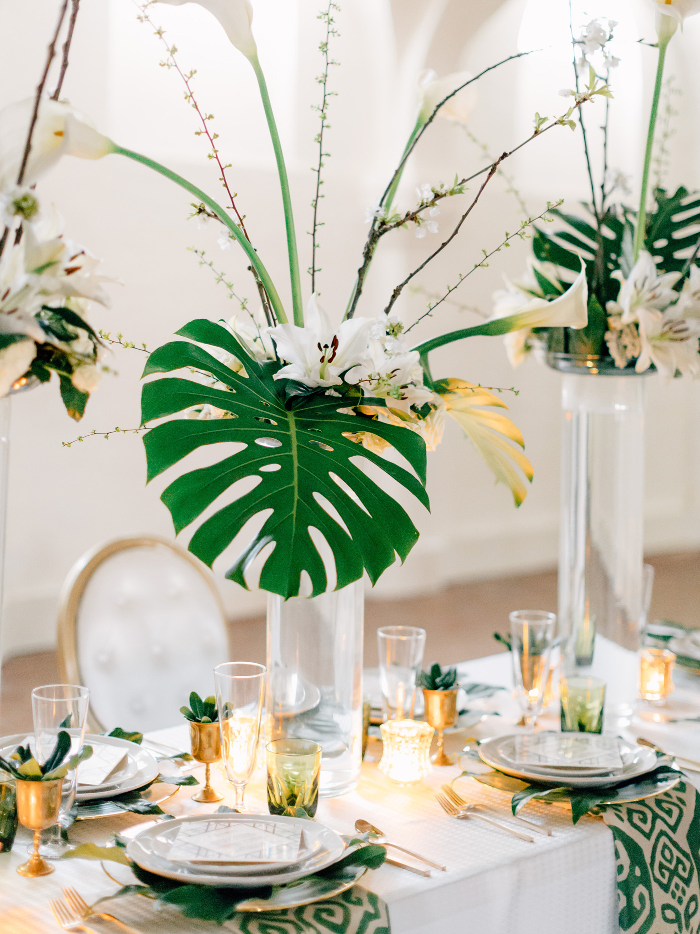 modern art deco st louis wedding