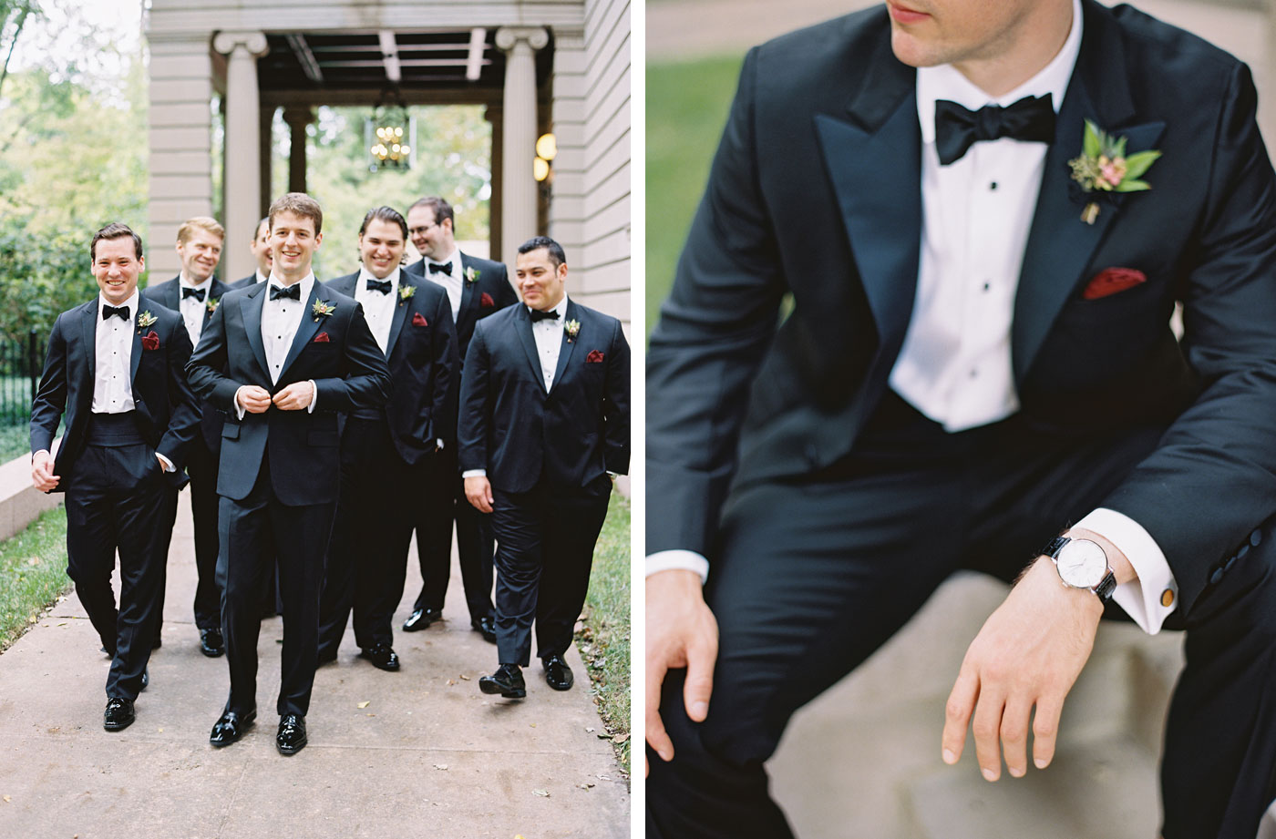 Groomsmen St. Louis wedding
