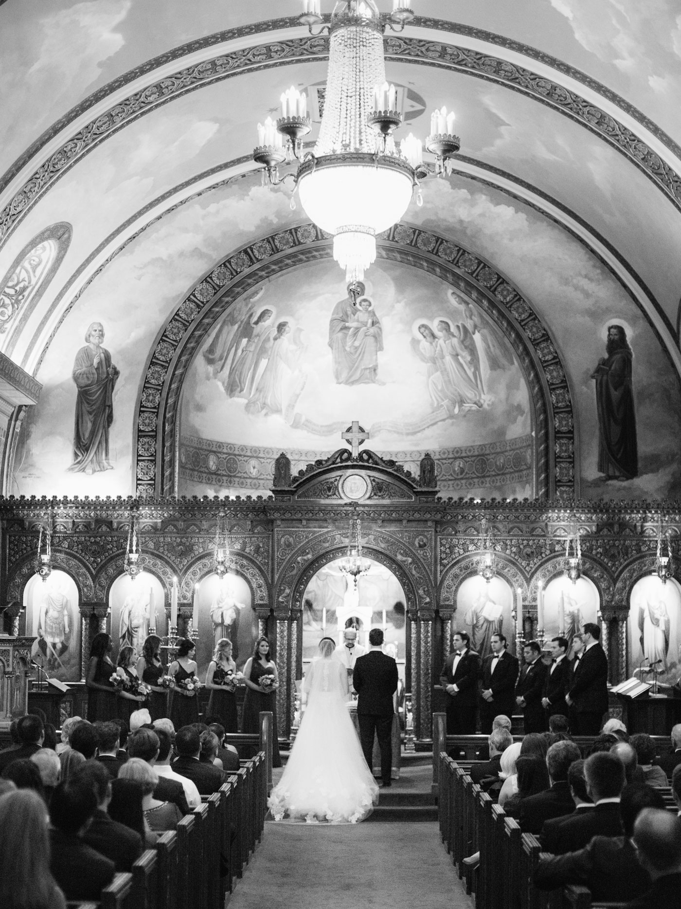 St. Nicholas Greek Orthodox wedding