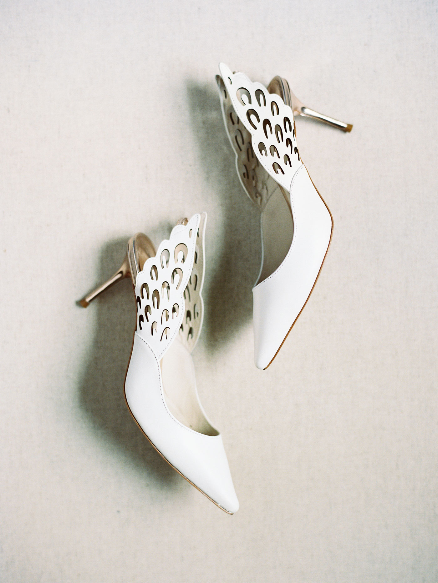 angel wedding shoes