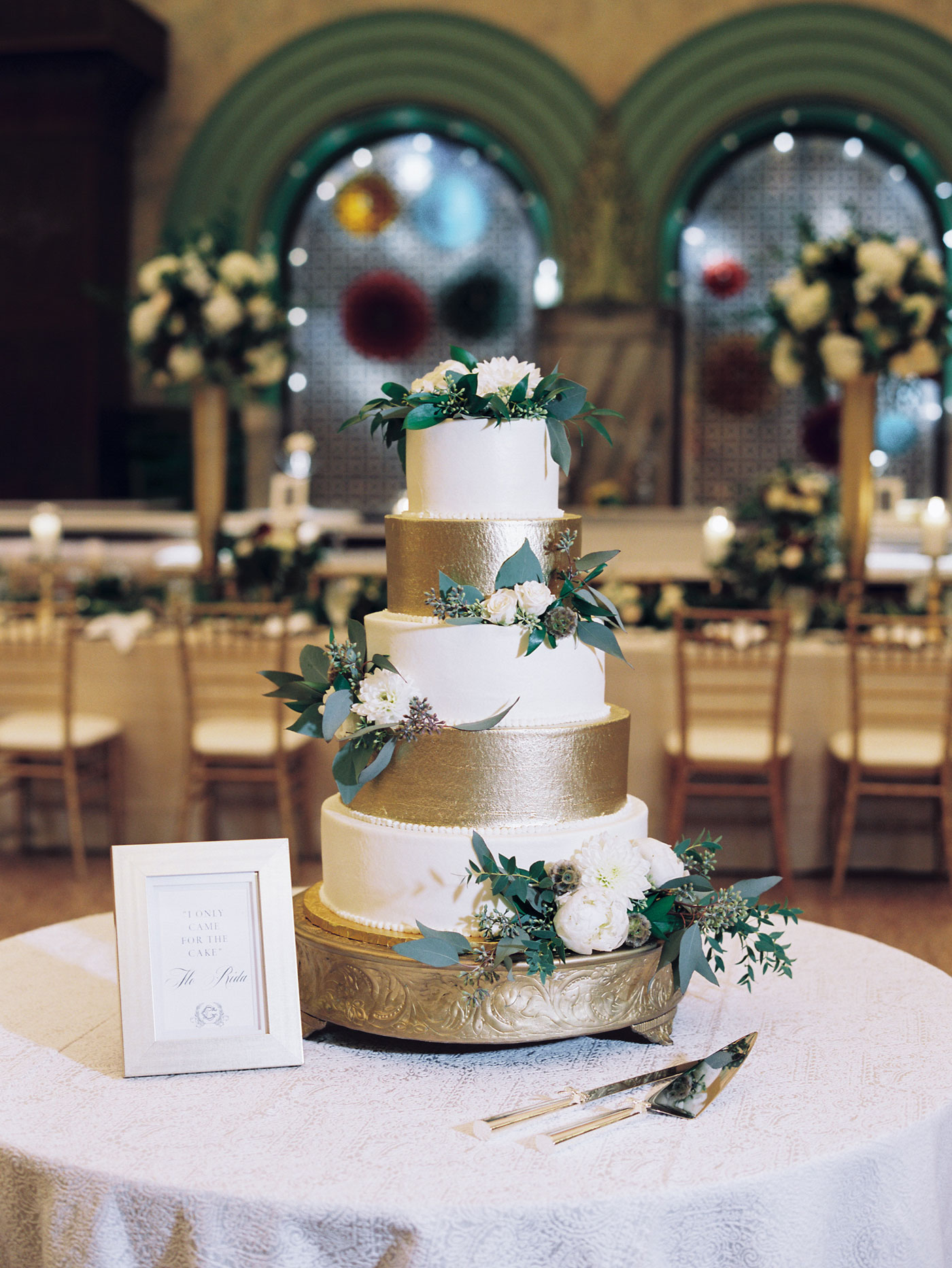 wedding cake at st louis union station