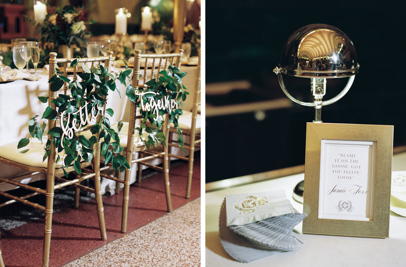 wedding details at st louis union station
