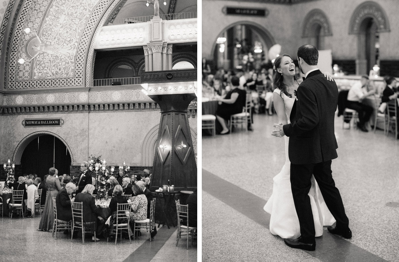 wedding at union station st louis