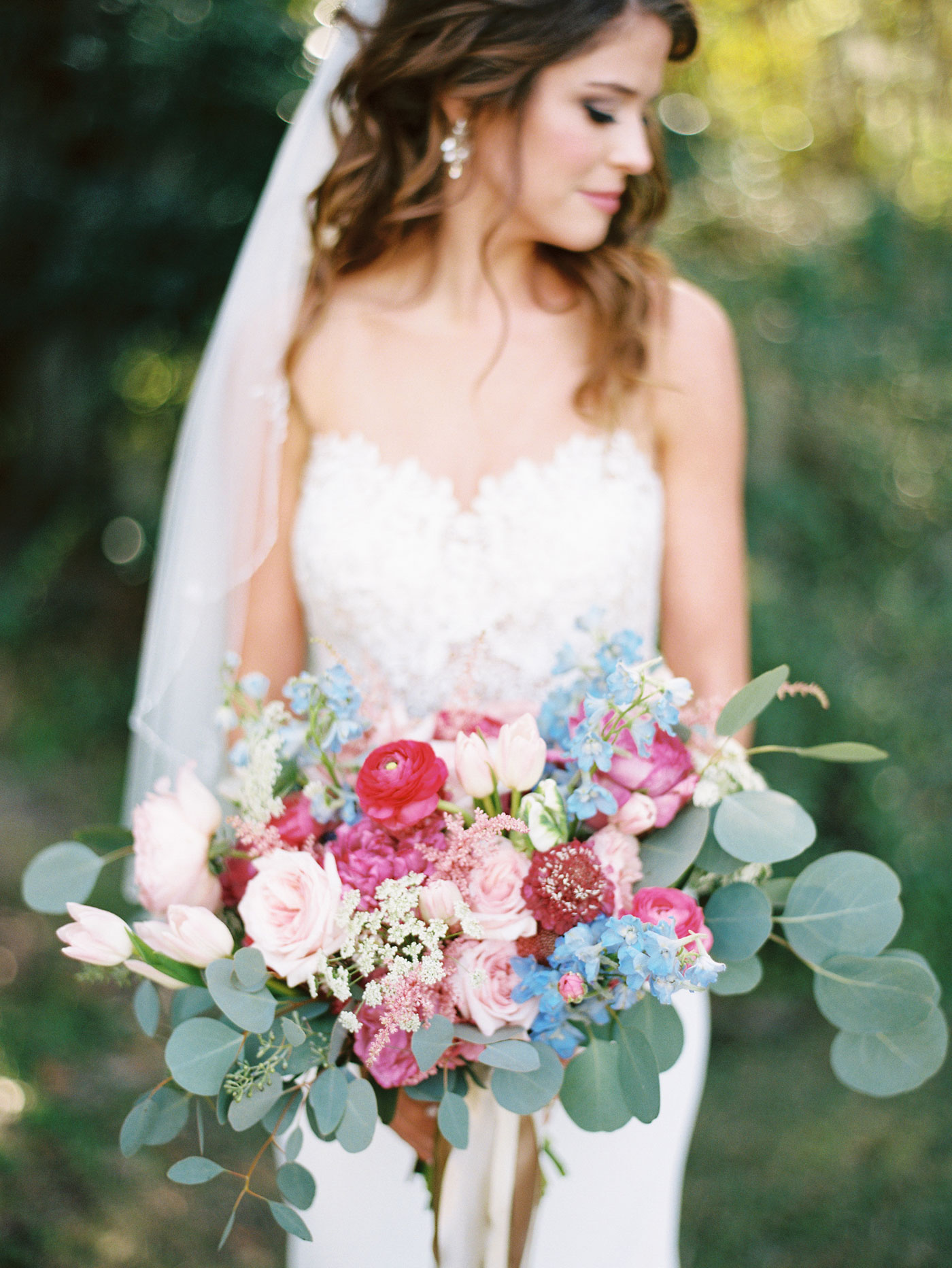 bridal bouquet legare waring house wedding