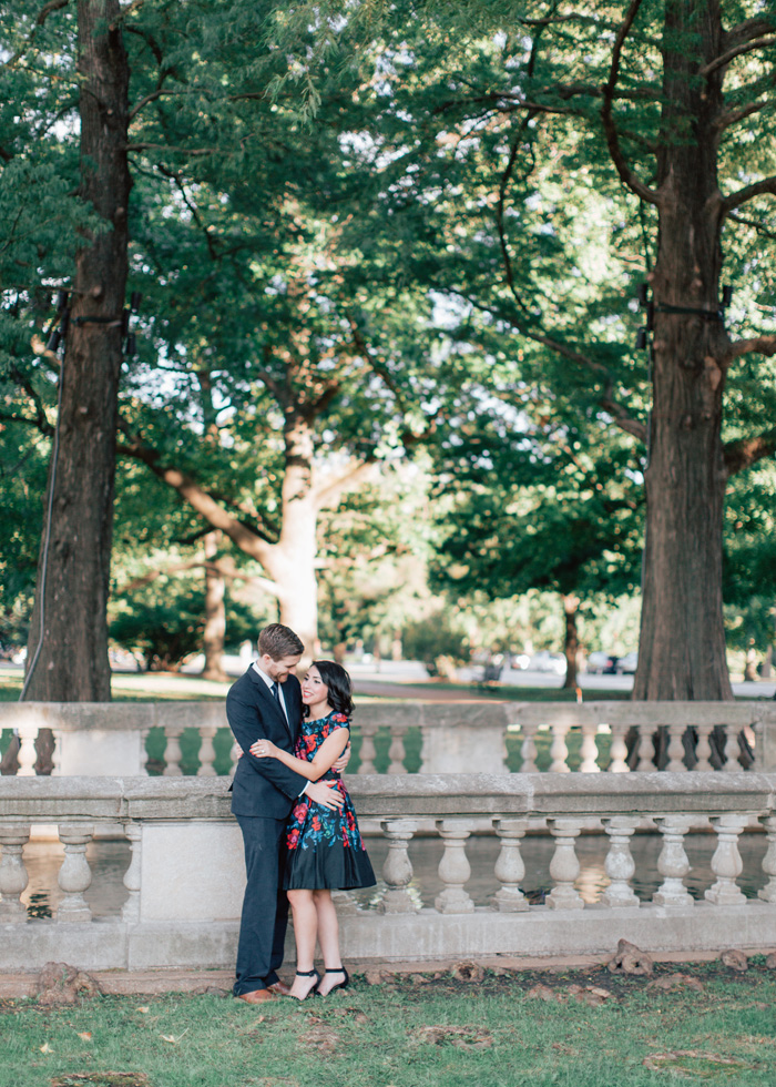 Tower Grove engagement session