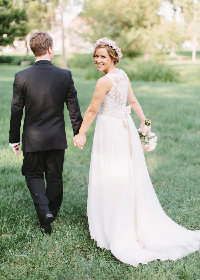 bride and groom francis park