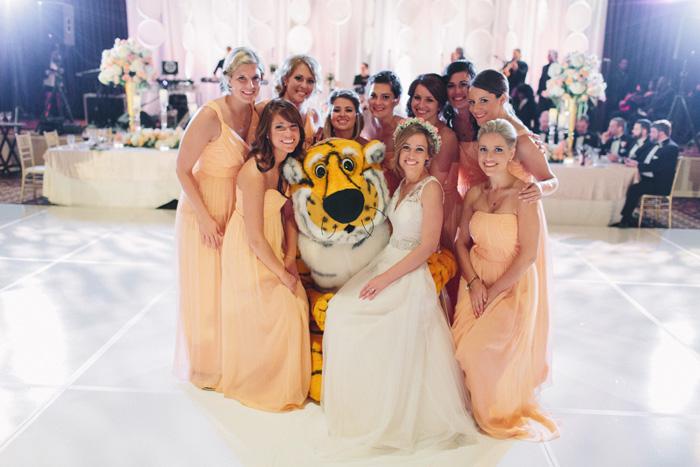 Mizzou tiger wedding