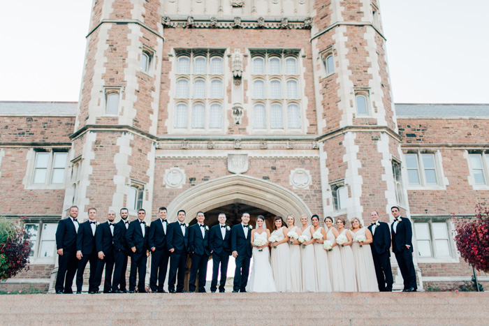 Washington University wedding photos
