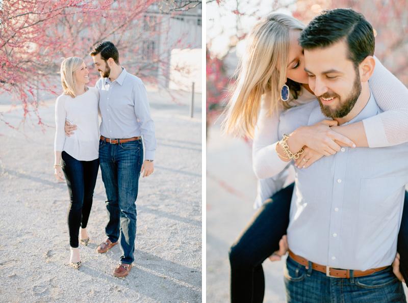 romantic st. louis engagement