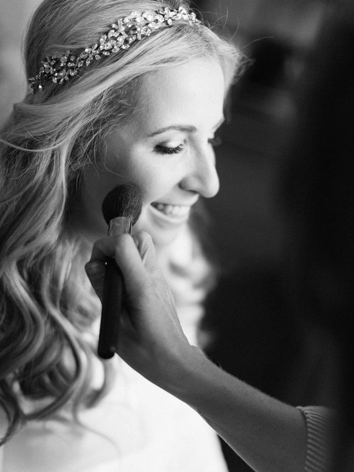 Emily Miller wedding makeup