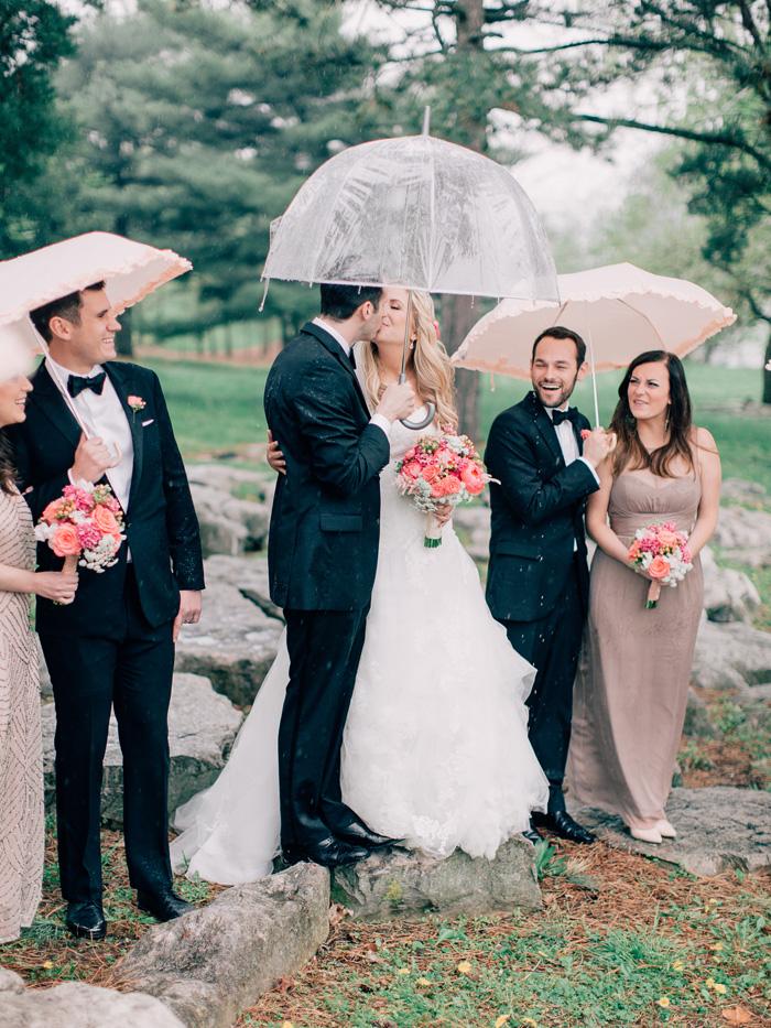 rainy day wedding st louis