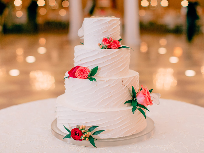 wedding cake coronado ballroom