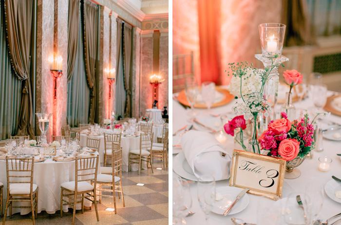 coronado wedding ballroom details