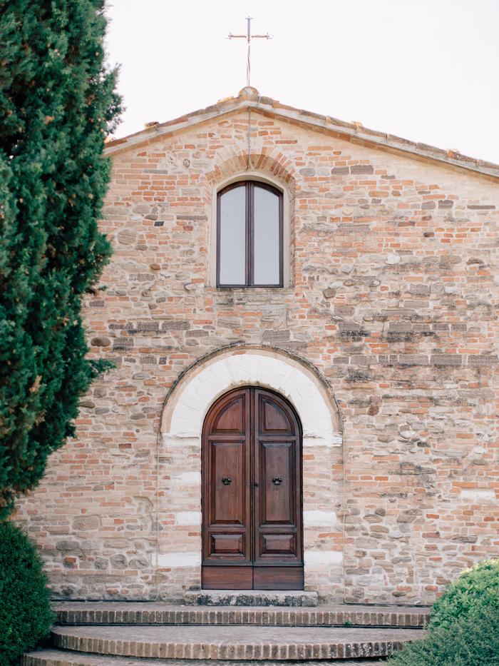 Church at Urbino Resort Italy
