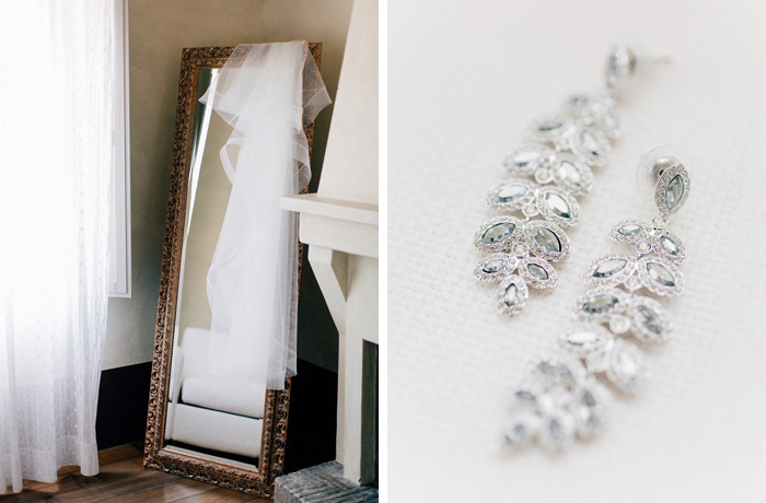 swarofsky crystal wedding earrings