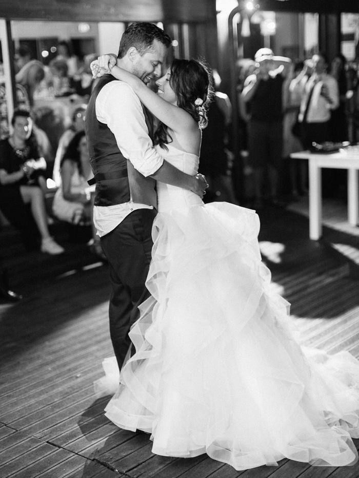 Bride and groom dance italy wedding