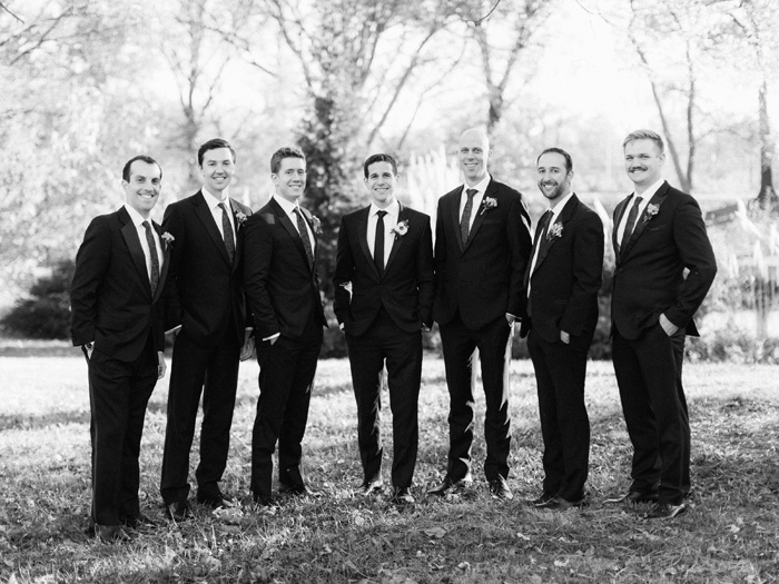 Groomsmen Peabody Opera House wedding