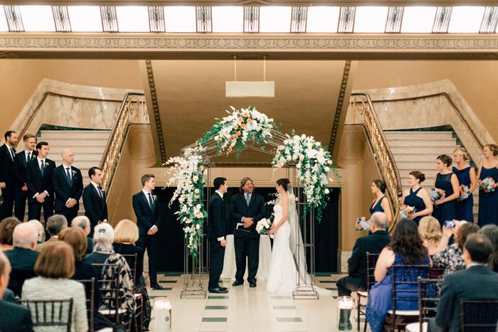Jewish wedding Peabody Opera House