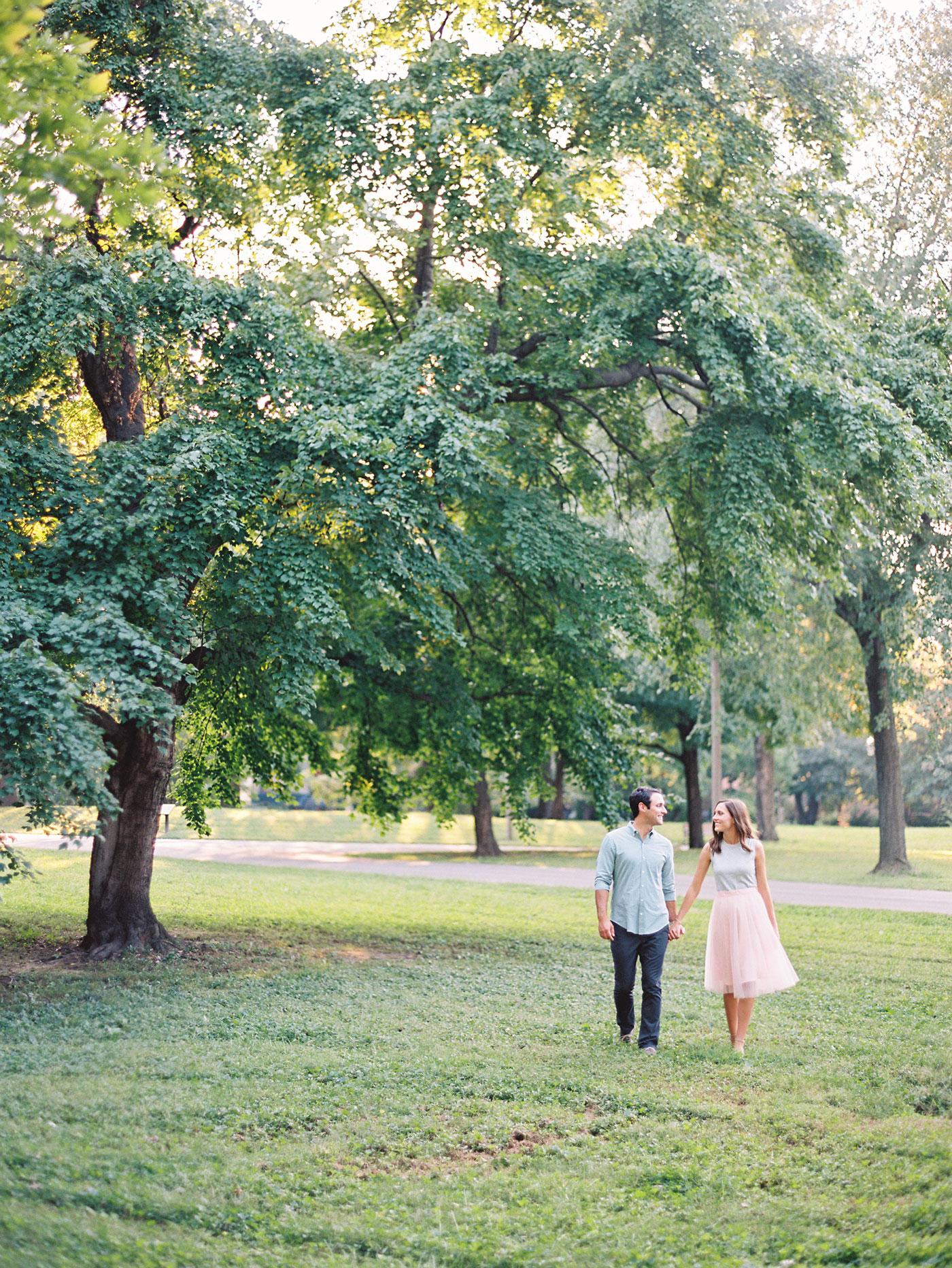 Lafayette Park engagement photos