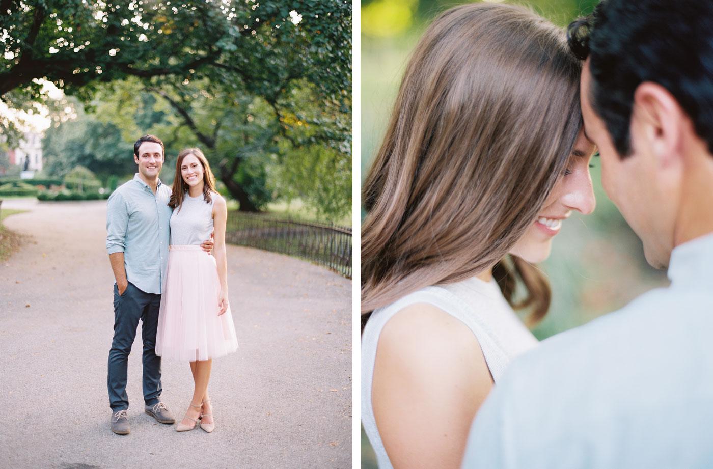 Romantic St. Louis engagement Photos