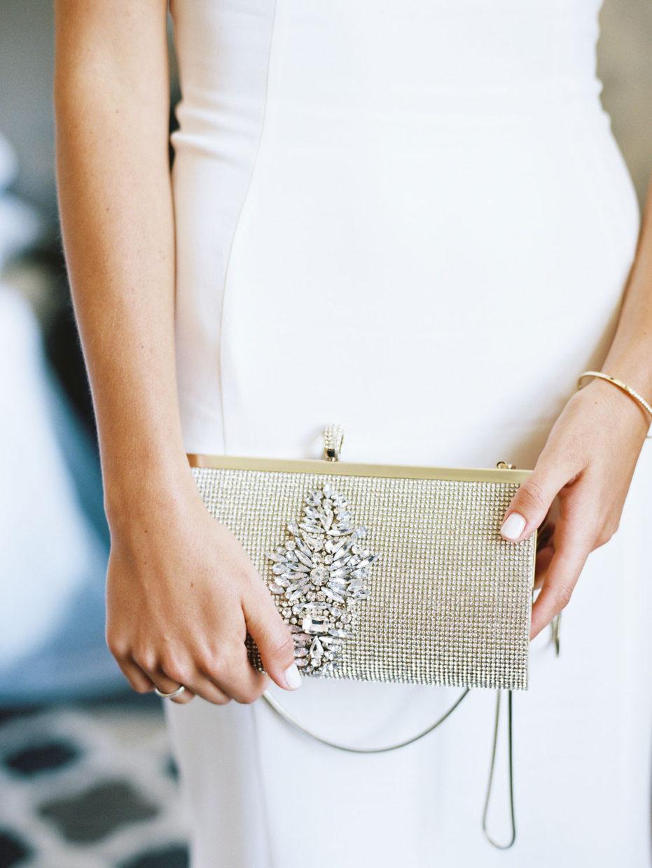 brides clutch purse
