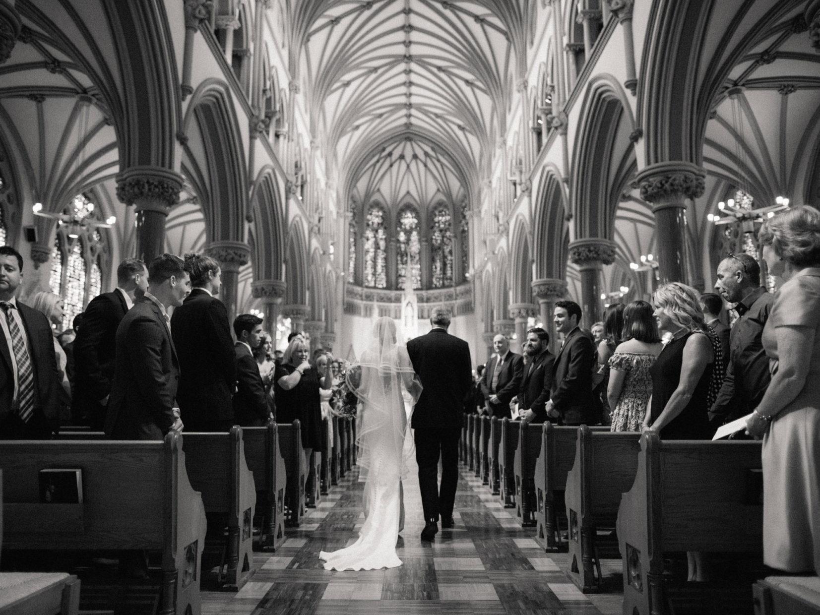 SLU church wedding
