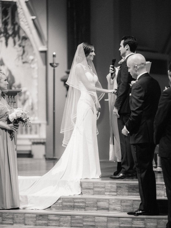 St Francis Xavier College Church wedding