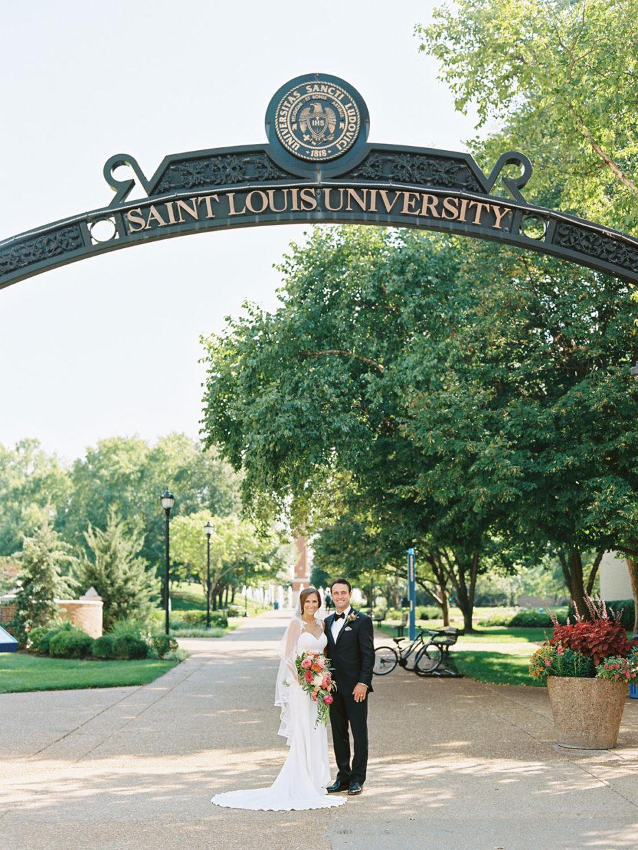 SLU wedding photos