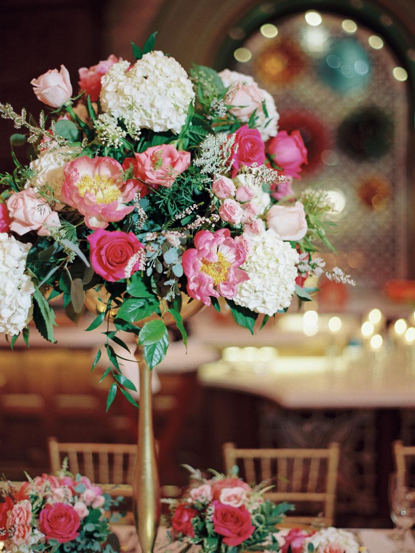 floral centerpiece st louis union station