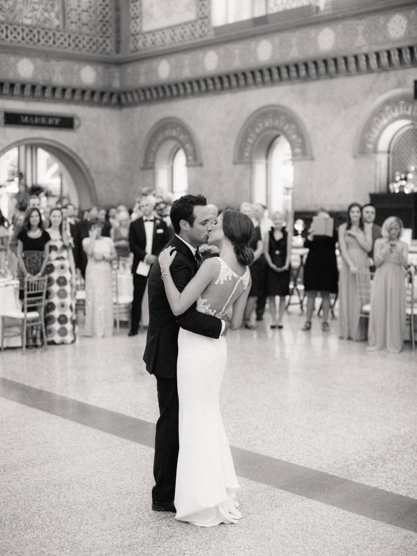 first dance kiss