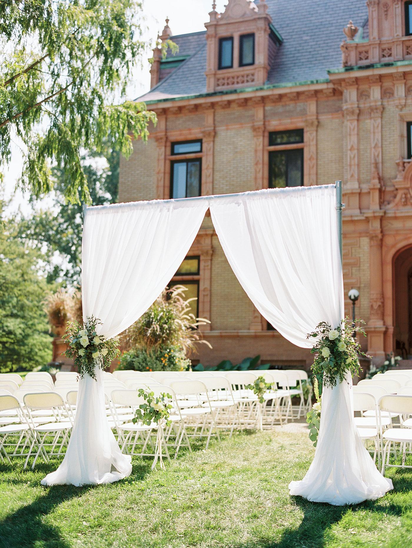 wedding entrance magic chef mansion