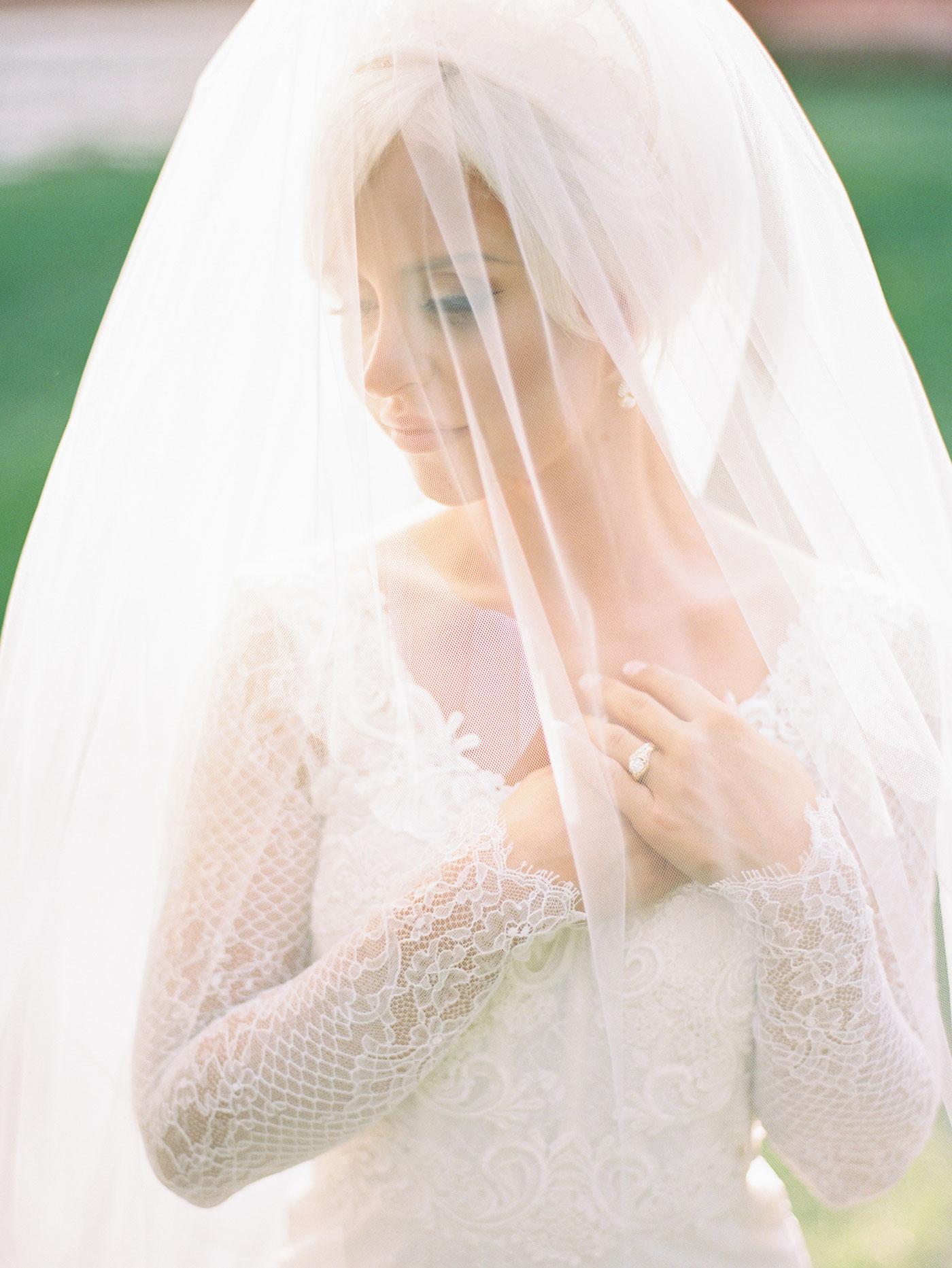 st louis bride portrait