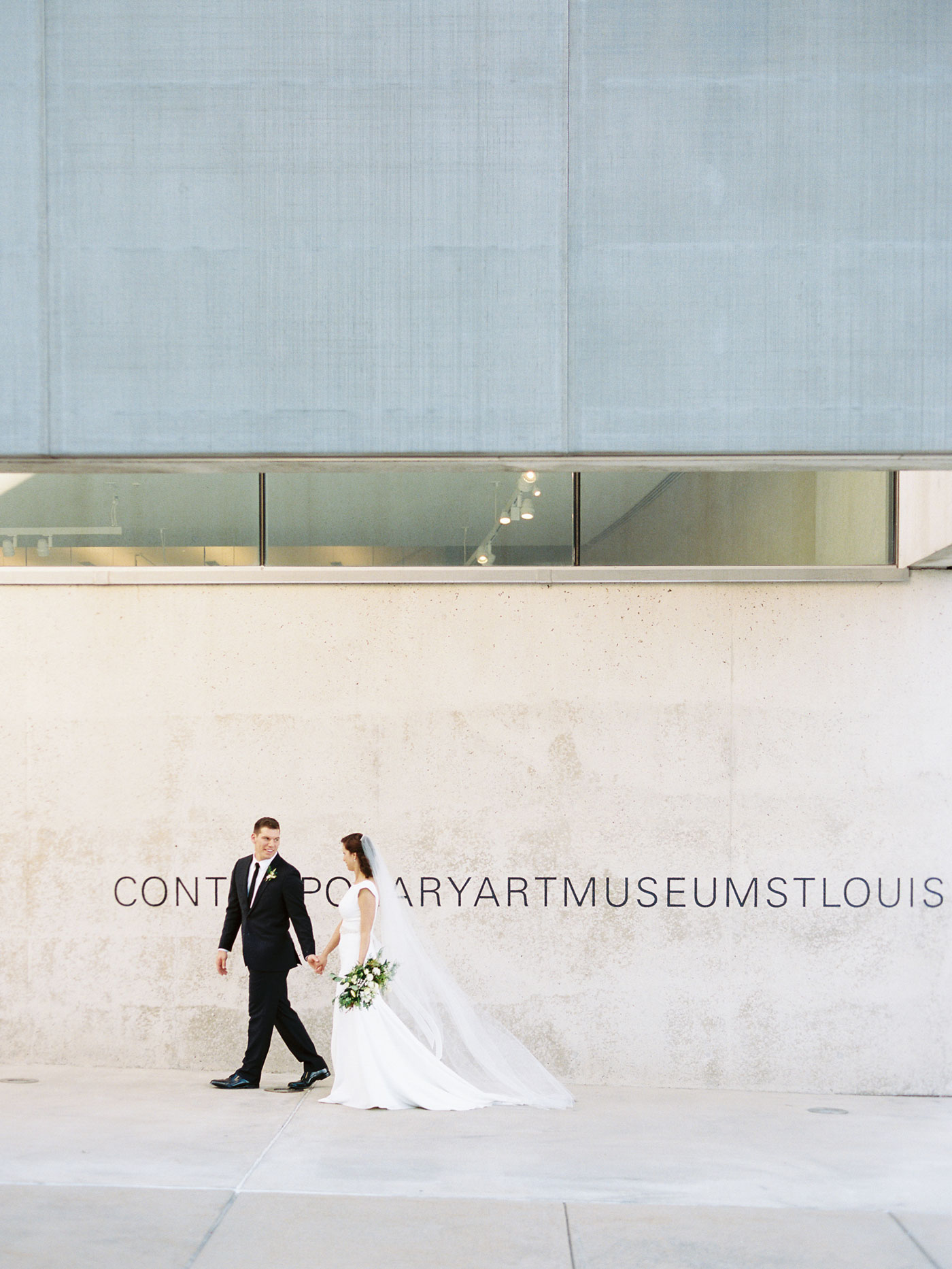 contemporary art museum wedding