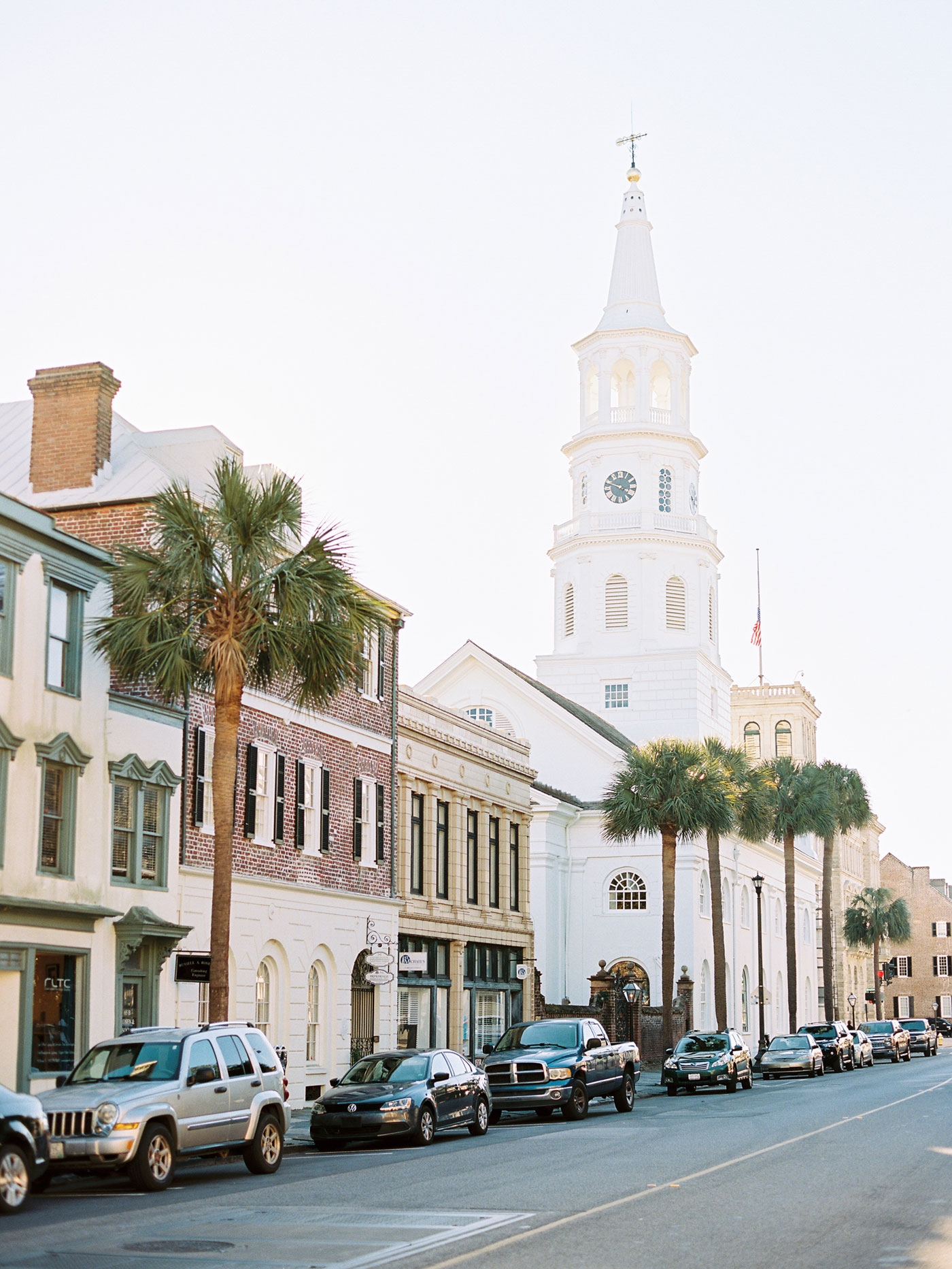 downtown charleston film photographer