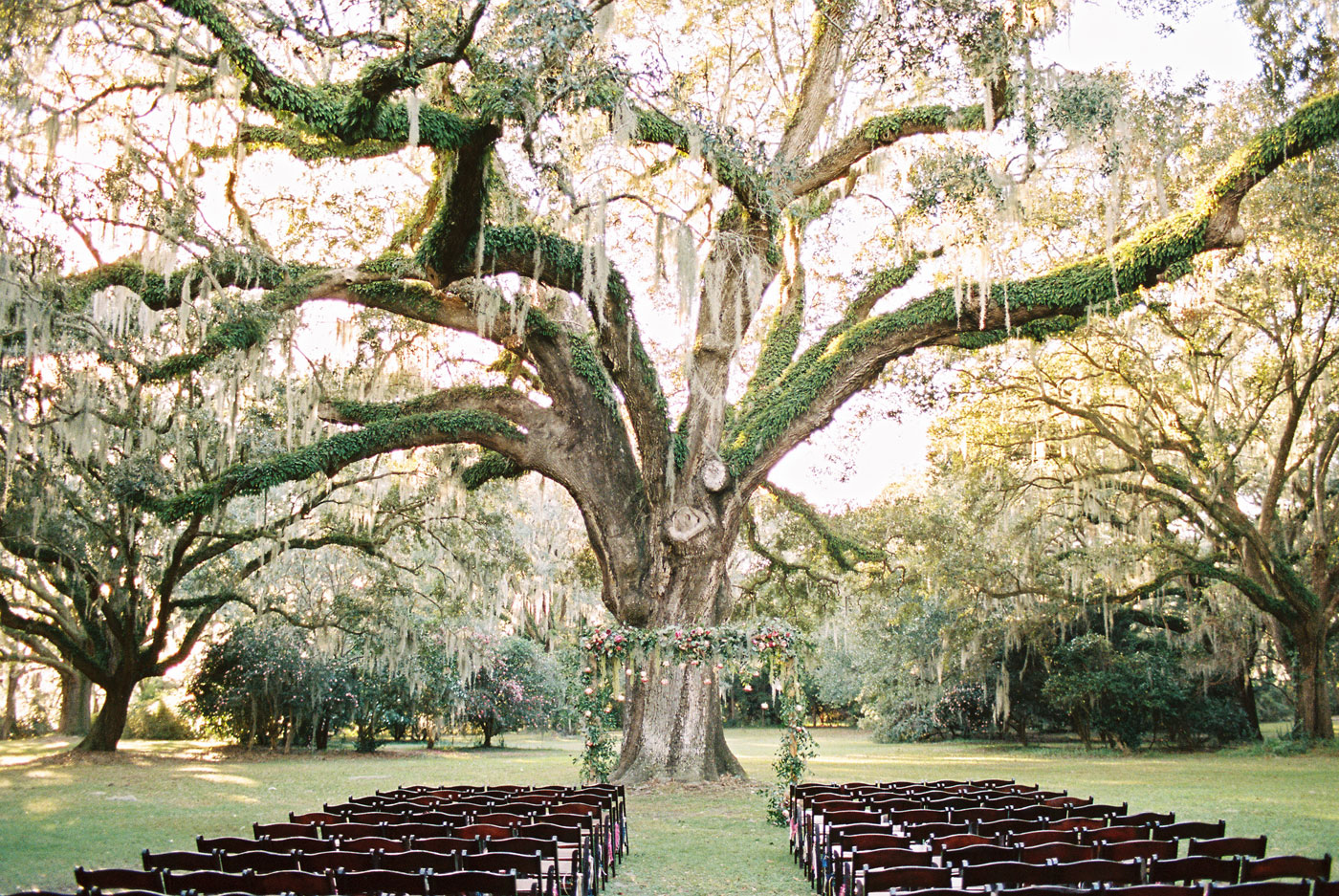 legare waring house wedding ceremony