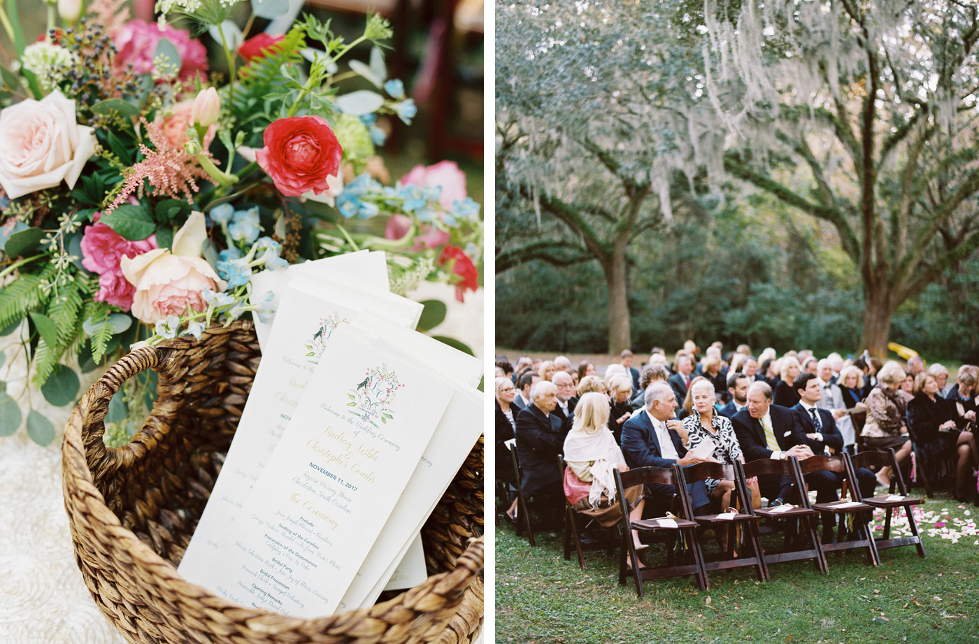 guests at legare waring house wedding