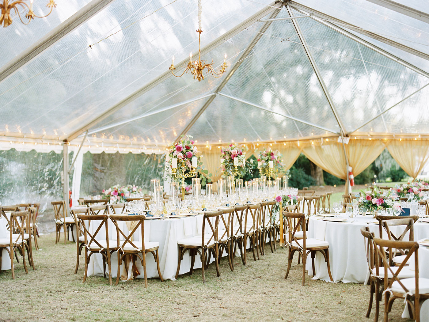 charleston tent wedding