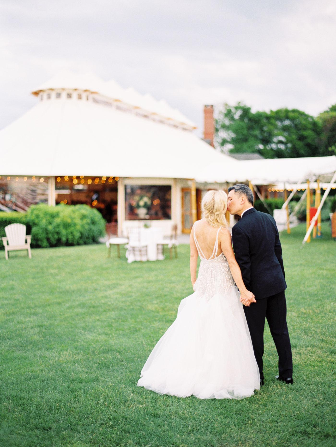romantic film wedding photos