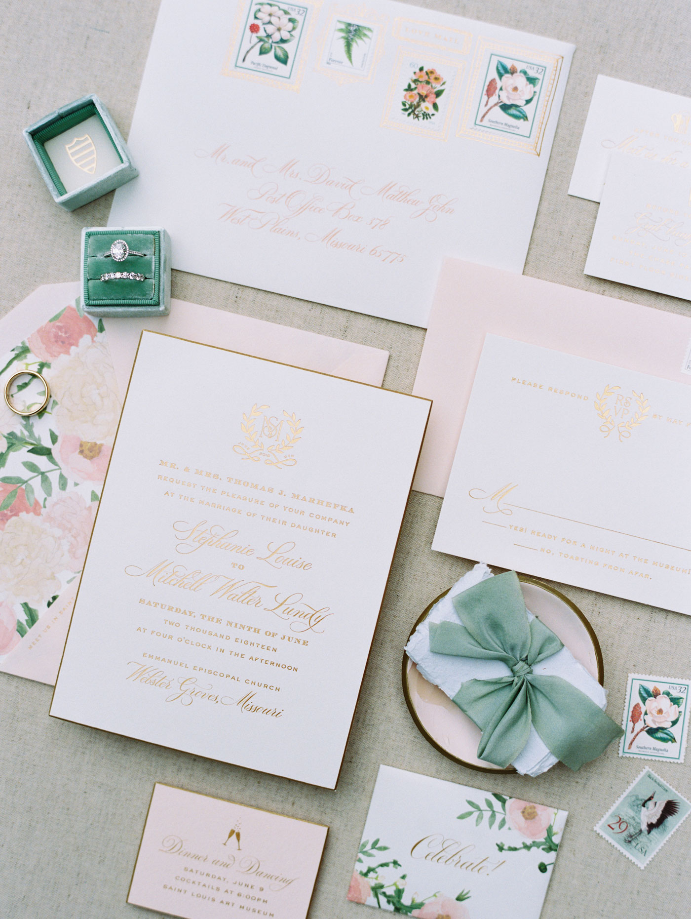 cheree berry wedding invitations