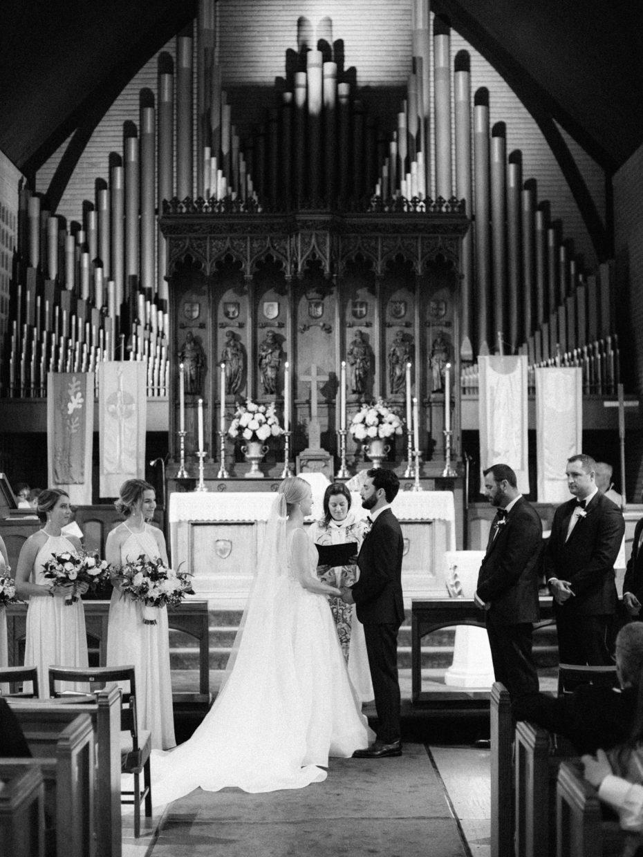 Episcopal wedding ceremony