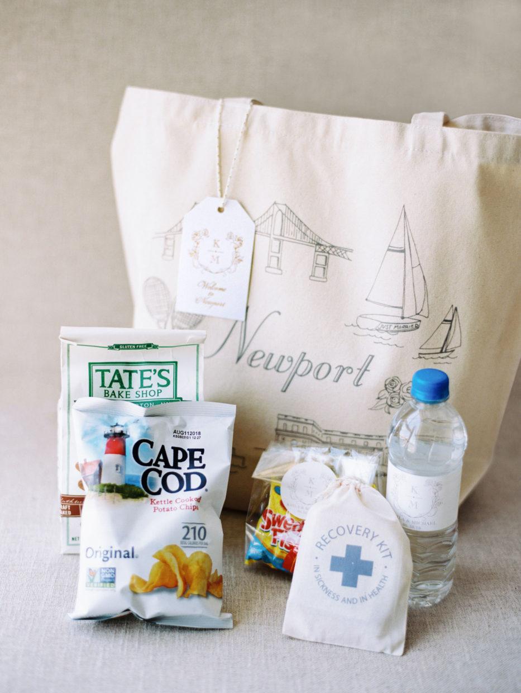 Newport Wedding Welcome bag