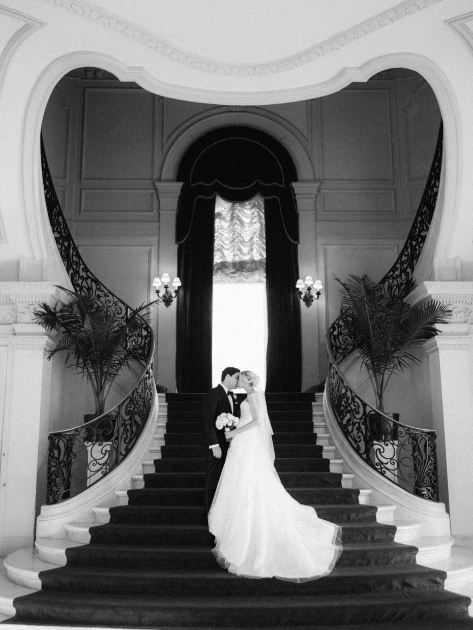 rosecliff staircase wedding