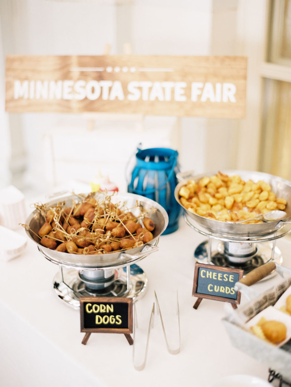 minnesota state fair wedding snacks