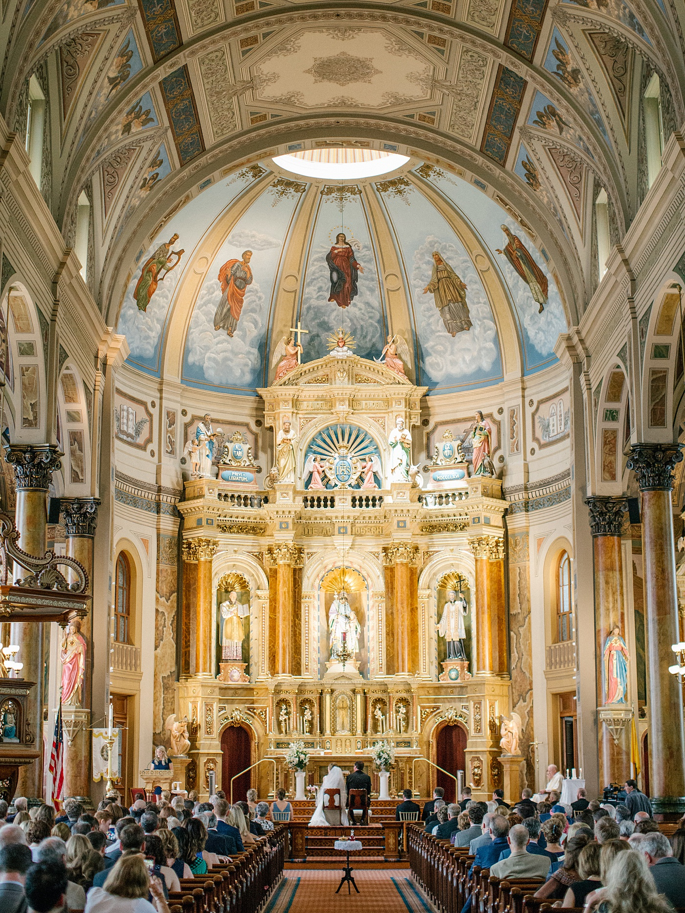 shrine of st joseph wedding
