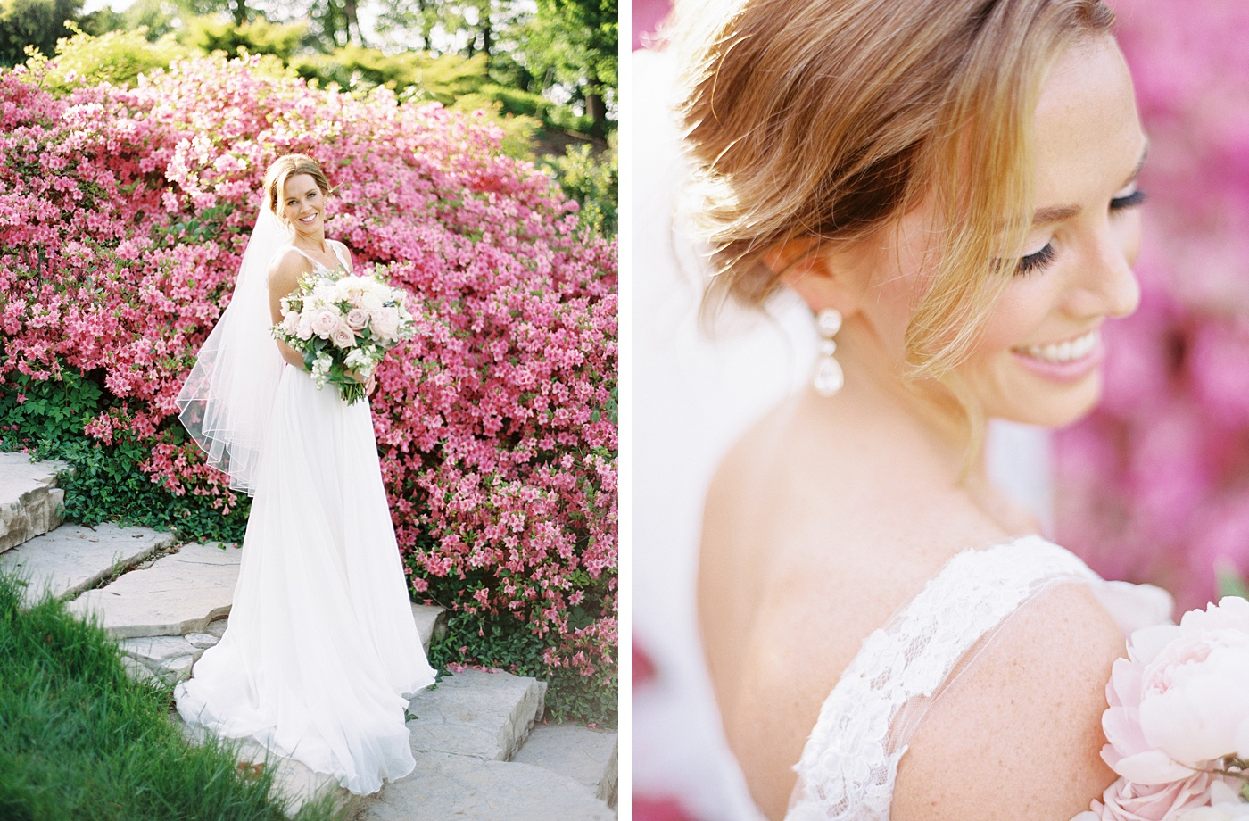 bride portraits at bellerive country club