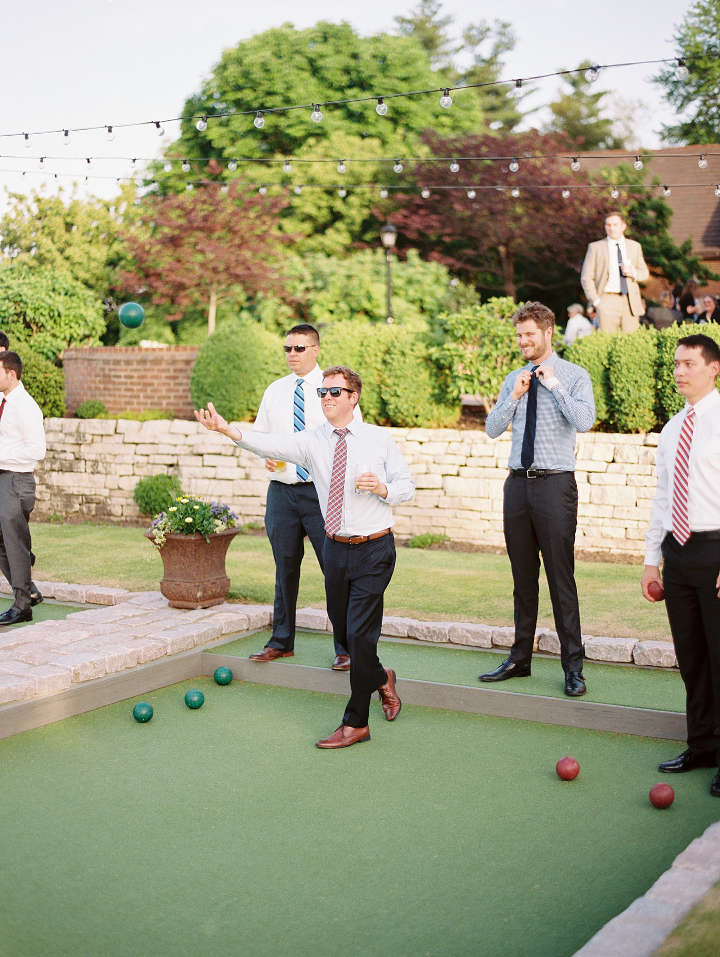 bocce ball wedding